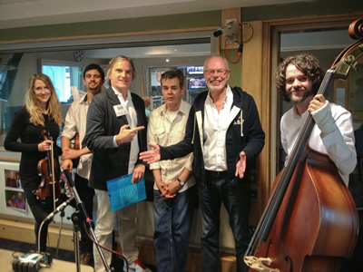 The Coal Porters with Bob Harris for a live session out Oct 28 on his show.