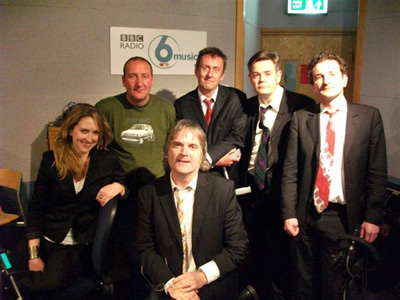 The Coal Porters play live on Marc Riley's ace BBC 6 Music show in Manchester, April 2010.