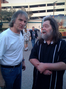 The legendary Roky Erickson talks over the Thirteenth Floor Elevators back catalog with Sid at SxSW in Austin.