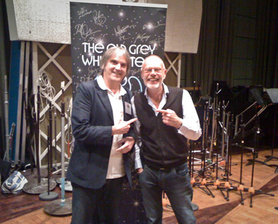 August 31, 2011...Our Hero and Whisperin' Bob Harris discuss the Long Ryders appearing on BBC's TV show Whistle Test many moons before.