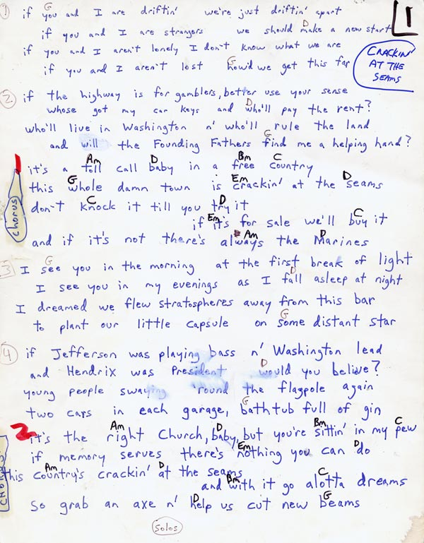 The Coal Porters Lyrics And Chords The Official Website Of Sid Griffin