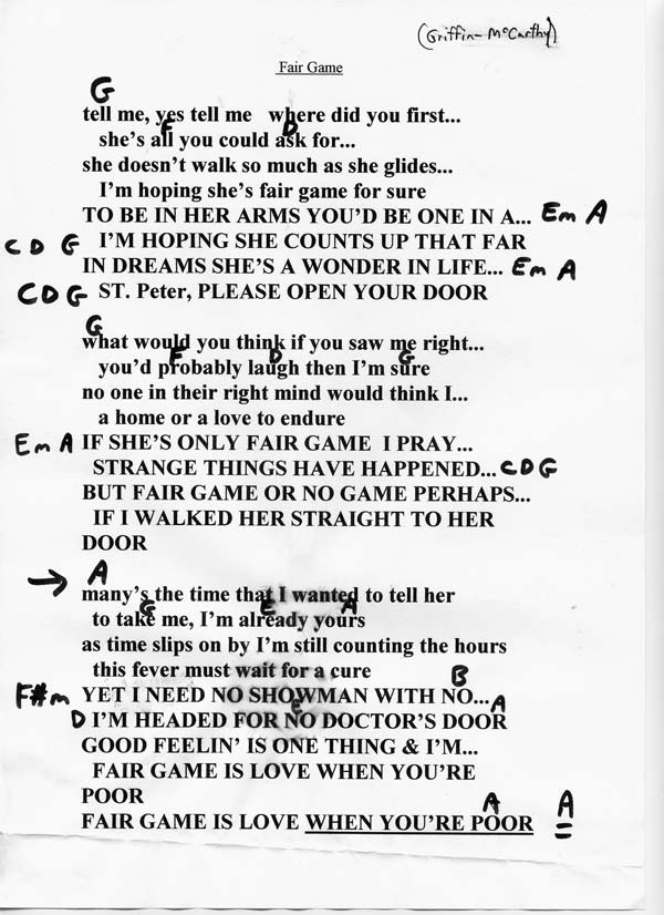 Lyric don t tell me what to do lyrics : Long Ryders Lyrics and Chords - Sid Griffin