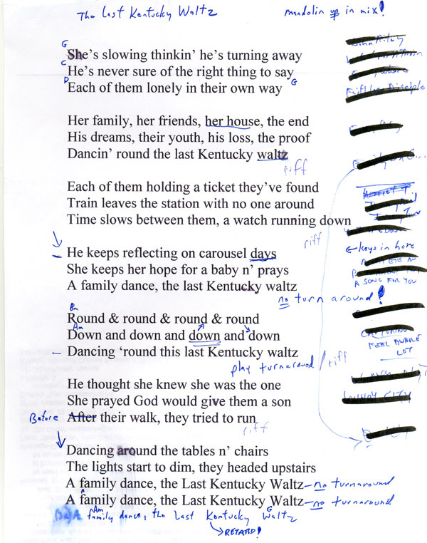 Sid Griffin Solo Lyrics And Chords Sid Griffin