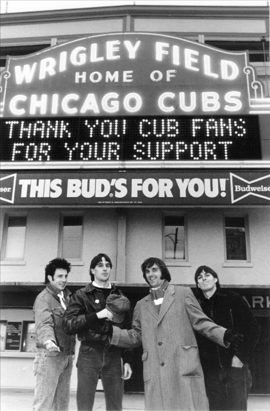 The Long Ryders visit Wrigley Field circa 1986