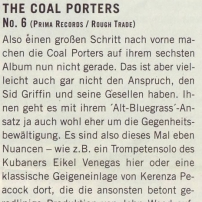 The Coal Porters - No.6 - Westzeit Review