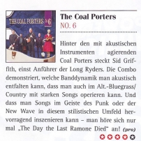 The Coal Porters - No.6 - Guitar Review