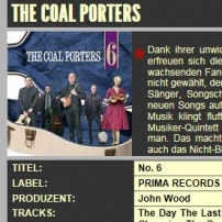 The Coal Porters - No.6 - Country Jukebox Review