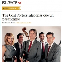 The Coal Porters - No.6 - El Pais Article