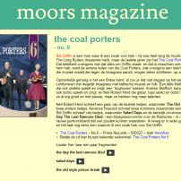 The Coal Porters - No.6 - Moors Magazine Review