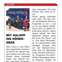 The Coal Porters - No. 6 - Forum German Magazine Review
