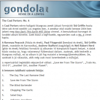 The Coal Porters - No.6 - Gondola Review