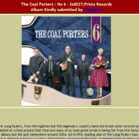 The Coal Porters - No.6 - BillyBop, Belgian Review
