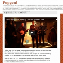 The Coal Porters - No.6 - Popgeni, Swedish Review
