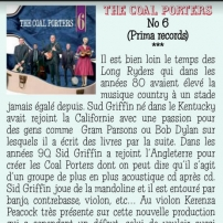 The Coal Porters - No.6 - Sur La Route De Memphis, French Review