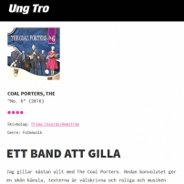 The Coal Porters - No.6 - Ung Tro, Swedish Review