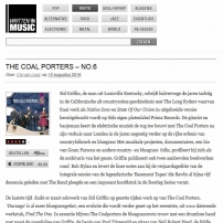 The Coal Porters - No.6 - Written In Music, Belgian Review