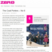 The Coal Porters - No.6 - Zero, Swedish Review