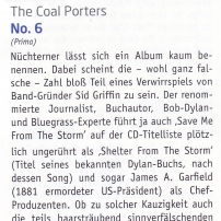 The Coal Porters - No.6 - Akustikgitarre German Review