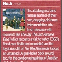 The Coal Porters - No.6 - Classic Rock Magazine Review