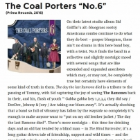 The Coal Porters - No.6 - Americana UK