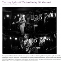 The Long Ryders - Final Wild Songs Tour Review