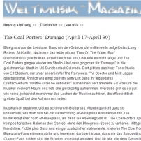 Welt Music magazine, May 2010