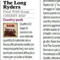 The Long Ryders - Final Wild Songs Box Set Review - Classic Rock Italy
