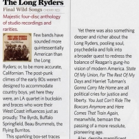 The Long Ryders - Final Wild Songs Box Set Review - Classic Rock