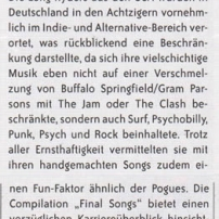 The Long Ryders - Final Wild Songs Box Set Review - Eclipsed German Magazine