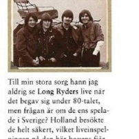 The Long Ryders - Final Wild Songs Box Set Review - HiFi Magazine (Sweden)