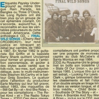 The Long Ryders - Final Wild Songs Box Set Review - Jukebox Magazine (France)