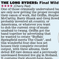 The Long Ryders - Final Wild Songs Box Set Review - Scottish Daily Express