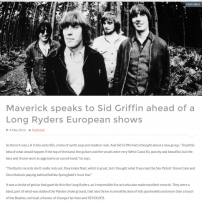 The Long Ryders - Final Wild Songs Interview - Maverick Magazine