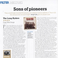 The Long Ryders - Final Wild Songs Box Set Review - Mojo Magazine