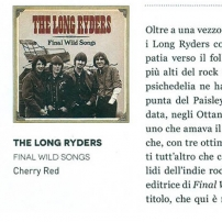 The Long Ryders - Final Wild Songs Box Set Review - Muchio Magazine (Italy)