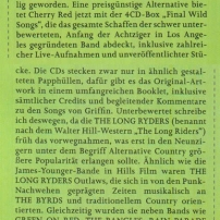 The Long Ryders - Final Wild Songs Box Set Review - Ox German Magazine