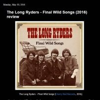 The Long Ryders - Final Wild Songs Box Set Review - It's Psychedelic Baby