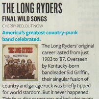 The Long Ryders - Final Wild Songs Box Set Review - Q magazine