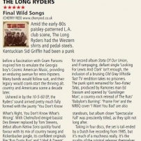 The Long Ryders - Final Wild Songs Box Set Review - Rock N Reel Magazine