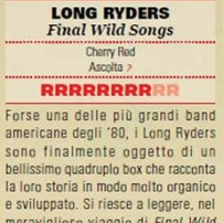 The Long Ryders - Final Wild Songs Box Set Review - Rumore Magazine (Italy)