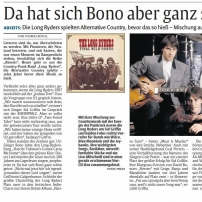The Long Ryders - Final Wild Songs Box Set Review - Die Rheinpfalz (German Newspaper)
