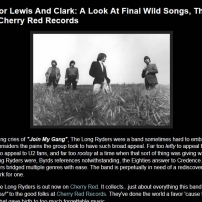 The Long Ryders - Final Wild Songs Box Set Review - A Pessimist Is Never Disappointed Review