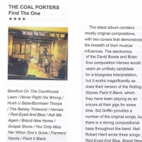 The Coal Porters Country Music People review