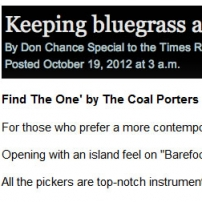Times Record News Find The One review 9/18/12