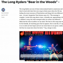 Americana UK - The-Long-Ryders - Bear In The Woods Review