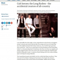 The Long Ryders - Cult Heros, The Guardian, September 2016