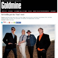 Goldmine Magazine - Sid Griffin Interview, November 2016