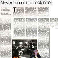'Never Too Old To Rock And Roll' by Stewart Lee: