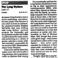 The Independent Review, Monday 5 July 2004