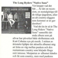 Kountry Korral Magazine Native Sons Review